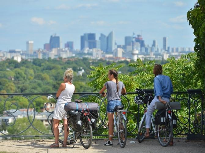 Saint-Germian-En-Laye : Bicycle, Saint-Germain-en-Laye, France, Yvelines Tourism